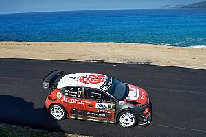 WRC Leg report Corsica WRC: Meeke maintains narrow gap over Ogier