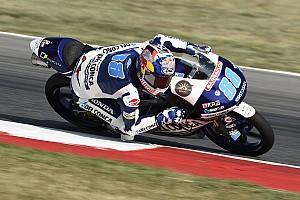 Moto3 Prove libere Aragon, Libere 3: Martin rifila quasi 1