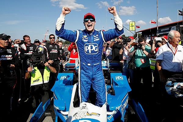 Ньюгарден одержал победу на этапе IndyCar в Мид-Огайо