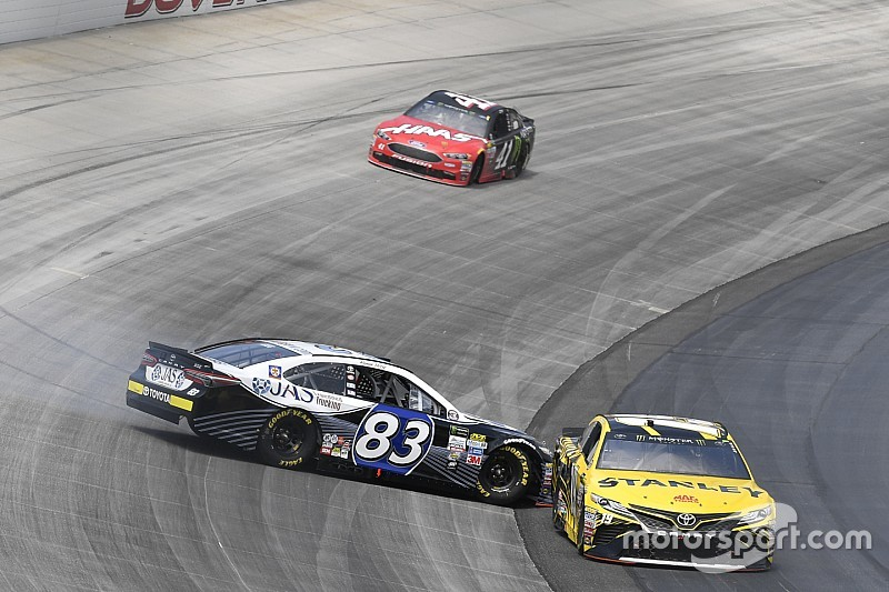 Daniel Suárez logró el mejor resultado de su carrera en NASCAR