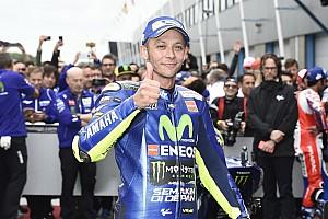MotoGP Interview Jika masih kompetitif, Rossi terus balapan usai 2018