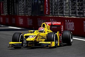 FIA F2 Reporte de la carrera Victoria de Nato por sanción a Leclerc