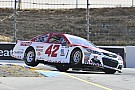 NASCAR Cup Larson and McMurray lock out Sonoma front row for Chip Ganassi Racing