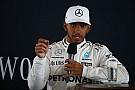 Formule 1 Hamilton wil meer vrijheid voor het gebruik van social media in F1