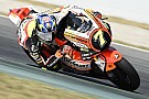 Bandera roja en la QP de Moto2 por una brutal caída de Baldassarri