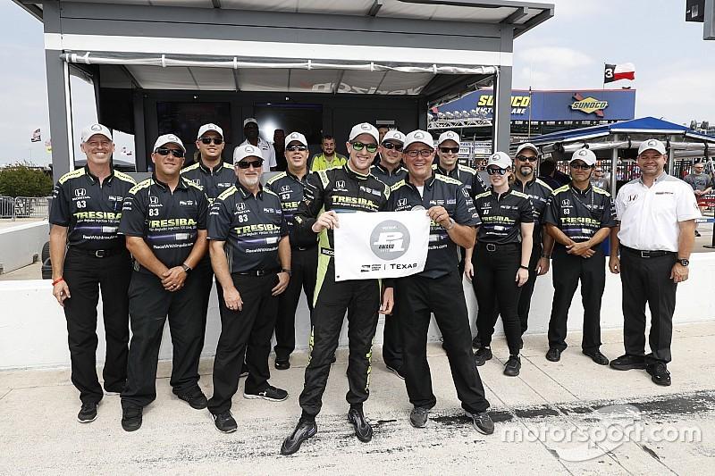 Kimball életében először a pole-ban az IndyCar texasi hétvégéjén!