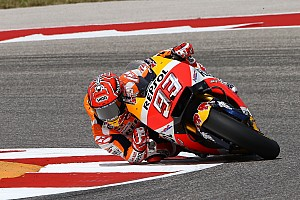 MotoGP Qualifiche Marquez in pole ad Austin per un soffio su Vinales, terzo c'è Rossi