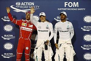 F1 排位赛报告 巴林大奖赛排位赛:博塔斯击败汉密尔顿,F1生涯首夺杆位