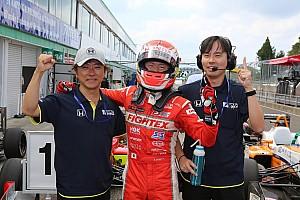 全日本F3 速報ニュース 大津弘樹、最終戦で嬉しい全日本F3初優勝。坪井翔の連勝は7でストップ