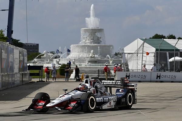 IndyCar-Double-Header in Detroit: Graham Rahal bekommt Pole für Rennen 1