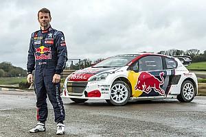World Rallycross Son dakika Loeb'ün yeni Peugeot 208 WRX aracı tanıtıldı