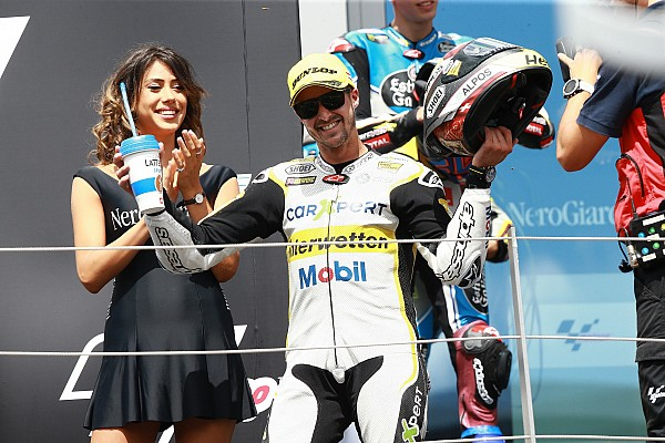 Moto2 Interview Au Red Bull Ring, podium et sourires pour Thomas Lüthi