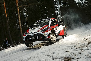 WRC Stage report Sweden WRC: Latvala leads after topping Thursday superspecial