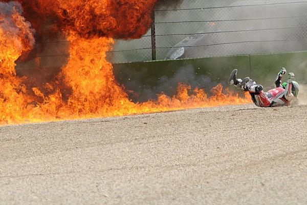Superbike-WM: Fotos vom Eugene-Laverty-Feuerball
