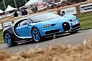 Vintage Bugatti Goodwood'a neredeyse 10.000 beygir getirdi!