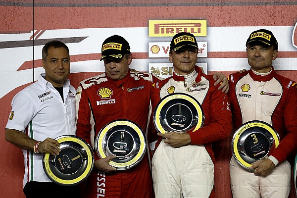 Ferrari Daytona Ferrari World Finals: Loefflad wins Coppa Shell world title