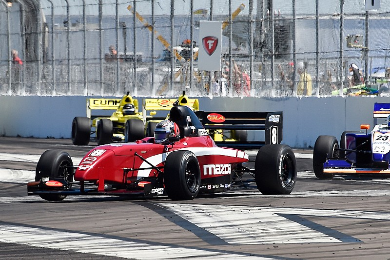 St Pete Pro Mazda: Martin scores second win