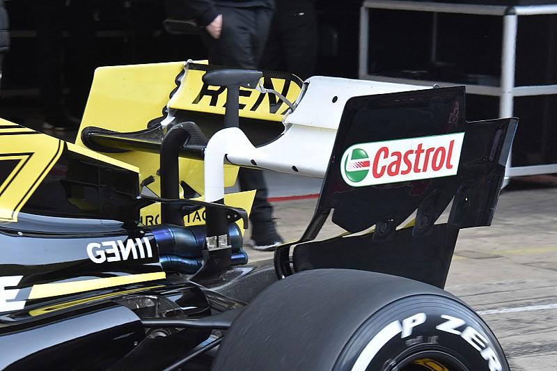Teknik: Renault kanatların esnekliğini ölçüyor