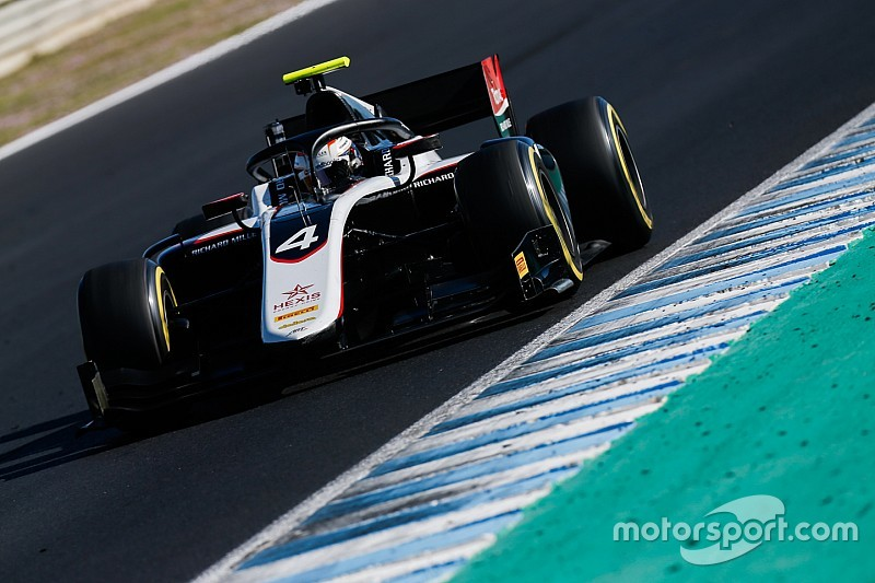 De Vries lidera el primer día de test de F2 en Barcelona