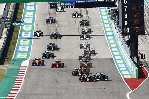Las estadísticas que dejó el GP de Estados Unidos de F1