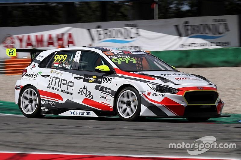 Fantastica vittoria di Dániel Nagy con la Hyundai in Gara 1 ad Assen