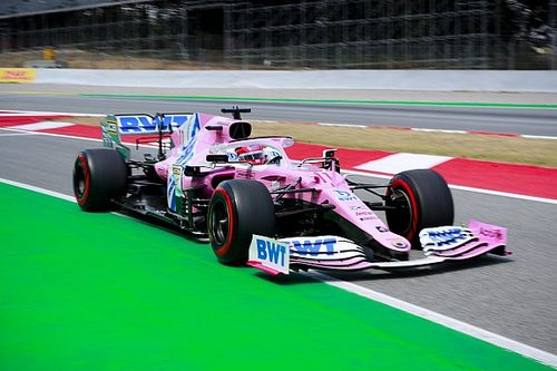 Perez pins hopes on start for podium fight in Spain