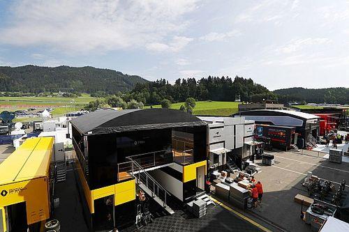 Máscaras, distanciamento e tendas: veja imagens direto do paddock do GP da Áustria de F1