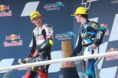 Norris aconseja a los pilotos de la VR46 cómo celebrar un podio