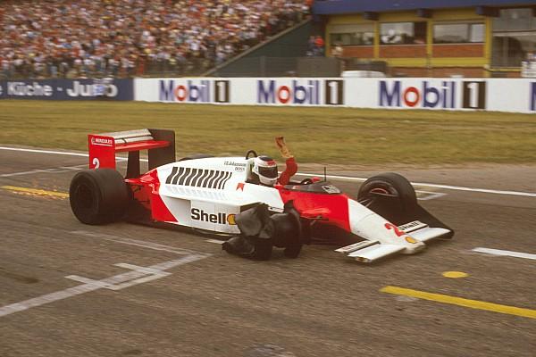 Stefan Johansson GP de Alemania