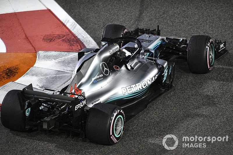 Hamilton en Mercedes hebben 'zwakke plek' in 2019-regels al gevonden
