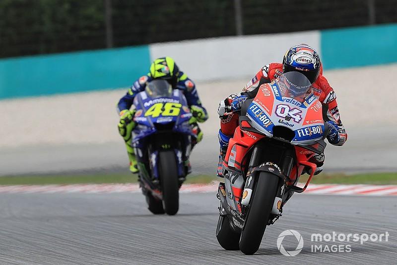 Sepang MotoGP yarışının saati yağmur yüzünden değiştirildi