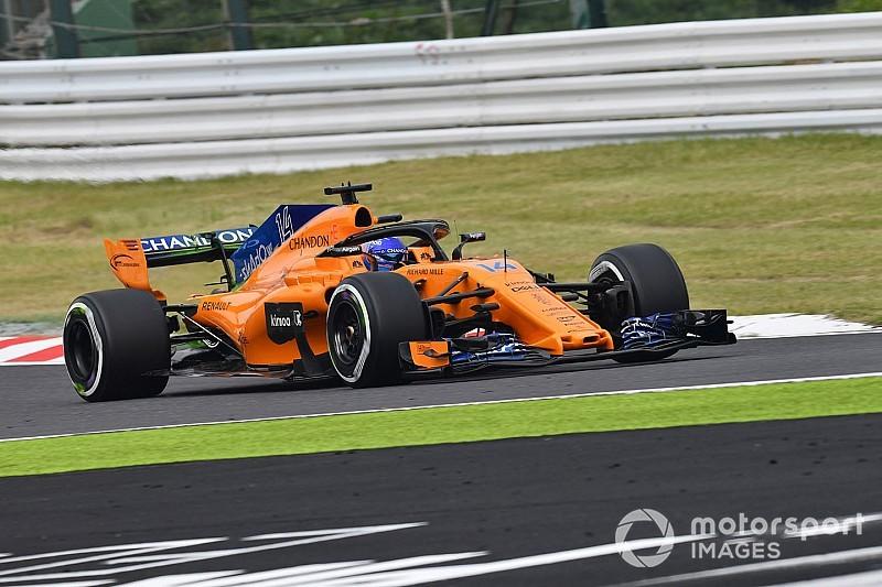 McLaren y Renault rompieron el toque de queda en Japón
