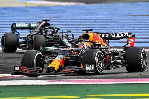"""F1 - Hamilton diz que seria inútil se defender de Verstappen na França: """"teria me ultrapassado depois"""""""