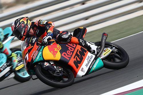 Zeven Moto3-coureurs starten Doha GP vanuit pitstraat