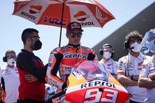 Marquez Takkan Tenang Mundur Saat Cedera