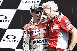 MotoGP Interview Lorenzo, Dall'Igna et ces objectifs