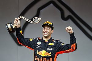 Ricciardo dominó el Gran Premio de Mónaco