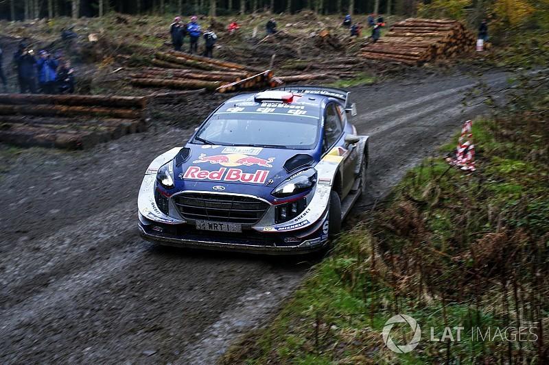 WRCイギリス:オジェ、初日首位発進。トヨタのラトバラ2番手