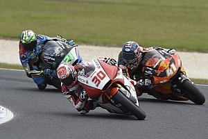 Moto2 速報ニュース ラスト2周、2番手走行中に転倒の中上貴晶「急にギヤが抜けてしまった」