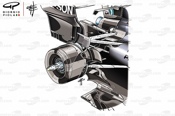 La ventaja que obtiene Mercedes con su suspensión trasera única