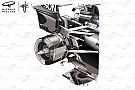 Análisis Técnico: los beneficios de la suspensión trasera del Mercedes W09