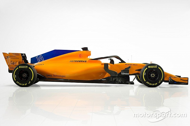 New F1 livery shows McLaren