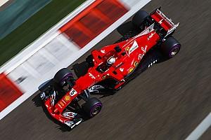 Vettel lideró la primera práctica en Abu Dhabi