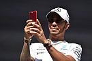 Drei Jahre zu spät: Lewis Hamilton mit bizarrem Formel-E-Post