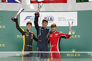 FIA F2 Race report F2 Baku: Albon kuasai feature race, Gelael P10