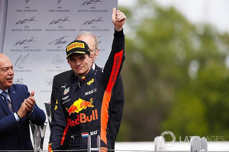 """Verstappen fica """"satisfeito"""" com pódio no GP do Canadá"""
