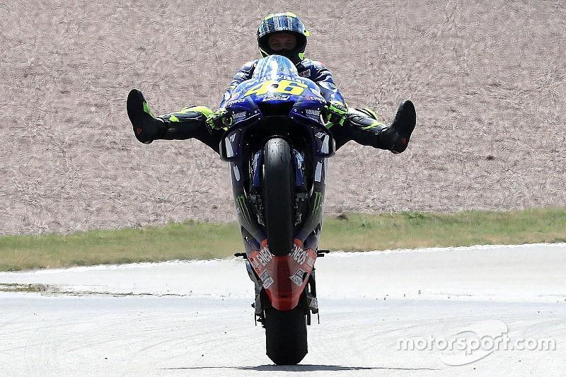 Rossi dankt tweede plaats in Duitsland aan Folger