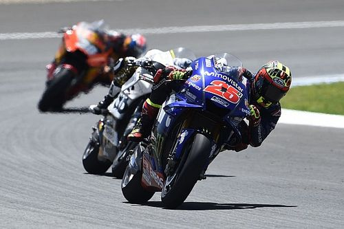 "Vinales pushed ""110 percent"" in ""very negative"" Jerez race"