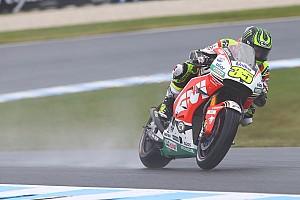 MotoGP Résumé d'essais libres EL1 - Crutchlow premier leader, la pluie en vedette