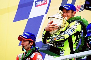 Valentino Rossi a 40 ans: sa carrière en 40 courses